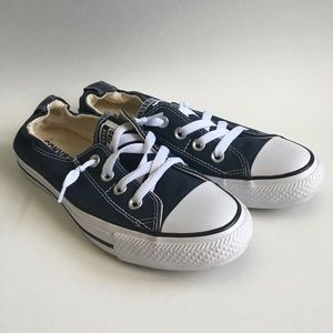Navy Converse Slip Ons Size 7.5